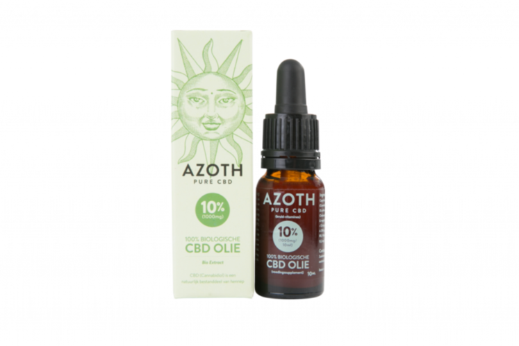 Azoth 10 Cannabidiol Cannabis Hemp Hennep Weed Oil Better Health