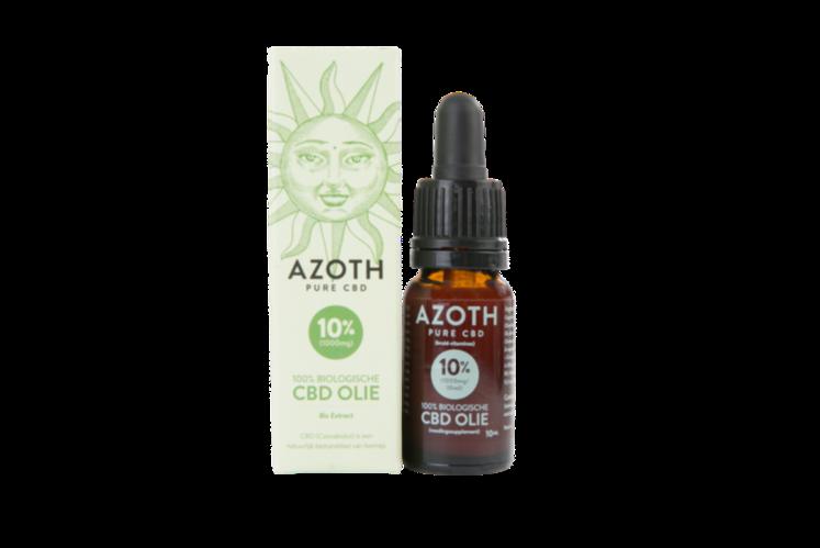 Azoth 10 Cannabidiol Cannabis Hemp Hennep Weed Oil Better Health