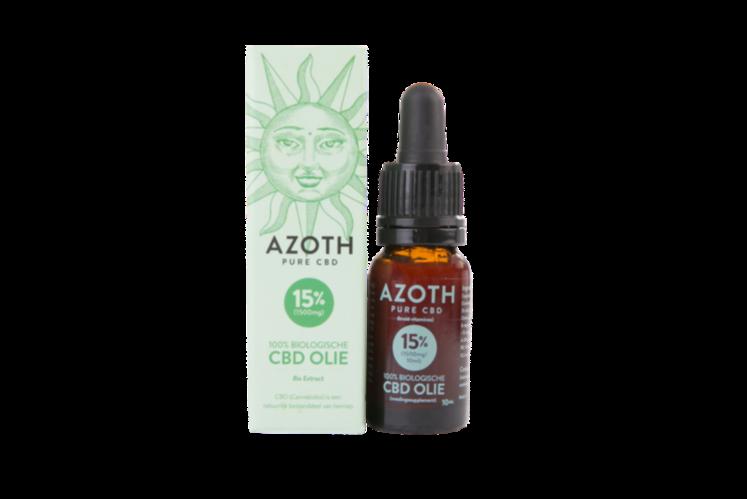 Azoth 15 Cannabidiol Cannabis Hemp Hennep Weed Oil Better Health